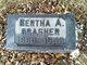 Profile photo:  Bertha A <I>Oliver</I> Brasher