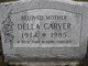 Profile photo:  Della <I>Cooley</I> Carver