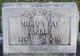 Milton Ray Parker