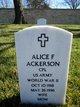 Alice Emma <I>Forsythe</I> Ackerson