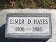 Profile photo:  Elmer Dean Hayes
