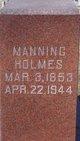 Samuel Manning Holmes