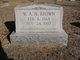 William Arthur Nathaniel Brown