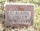 """Profile photo:  C Austin """"Austin"""" Julius"""