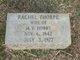 Rachel Ledford <I>Tharp/Thorpe</I> Hobbs