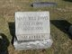 Mary Will <I>Haydon</I> Davis
