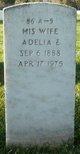 Profile photo:  Adelia E Stevenson