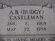 "Profile photo:  A. B ""Budgy"" Castleman"