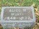Profile photo:  Alice M <I>Welch</I> Murty