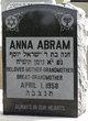 Profile photo:  Anna Abram