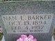 Nan Lee Barker