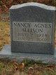 Nancy Agnes Allison