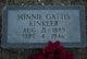 Minnie <I>Gattis</I> Kinkler