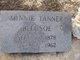 Profile photo:  Minnie <I>Tanner</I> Bledsoe
