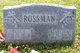 Hazel R <I>Mitchell</I> Rossman
