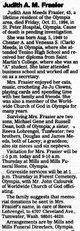 """Judith Ann """"Judy"""" <I>Meeds</I> Frasier"""