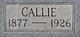 Mary Callie <I>Goggins</I> Anderson