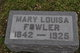 Mary Louisa <I>Mattingly</I> Fowler