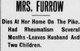 Sarah Jane <I>Ahl</I> Furrow