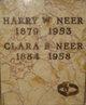Profile photo:  Clara B <I>Borman</I> Neer