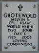 Profile photo:  Melvin Russell Grotewold