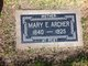 Mary E <I>Hargrave</I> Archer