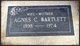 Agnes <I>Wharton</I> Bartlett