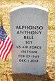 Profile photo:  Alphonso Anthony Bell