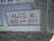 "Profile photo:  Alice May ""Allie"" <I>James</I> Kelley"