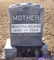 Martha <I>Johnson</I> Beard