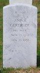 Profile photo:  Anna Gertrude Belveal