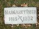 Profile photo:  Margaret <I>Bilz</I> Deck