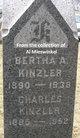 Bertha A. Kinzler