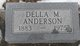 Profile photo:  Della May <I>Morrison</I> Anderson