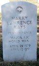 """Harry Lawrence """" """" <I> </I> Kays"""