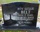 Profile photo:  Roy Leslie Belt