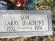 Profile photo:  Larry D. Adkins