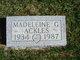 Madeleine G Ackles