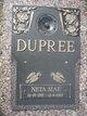 Neta Mae <I>Merritt</I> Dupree