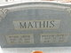Mamie <I>Smith</I> Mathis