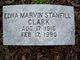 Edna Marvin <I>Stanfill</I> Clark