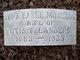 Edna Earle <I>Moseley</I> Landers