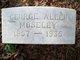 George Allen Moseley