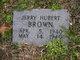 Jerry Hubert Brown