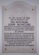 Rev John Moncure