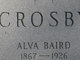 Profile photo:  Alva B Crosby