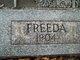 Freeda Benedict