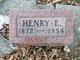 Henry E. Benedict