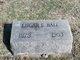 Edgar E Ball