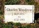 Profile photo:  Charles Woodrow